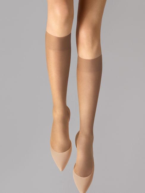 Wolford Sheer 15 Knee-Highs 15 DEN transparente Kniestrümpfe – Bild 6