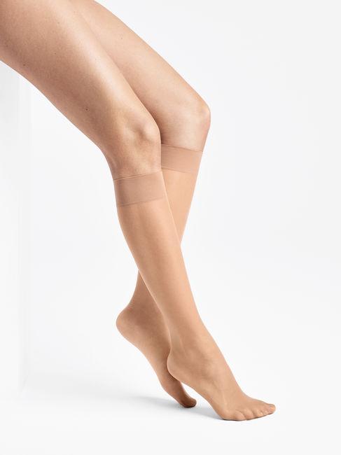 Wolford Sheer 15 Knee-Highs 15 DEN transparente Kniestrümpfe – Bild 4