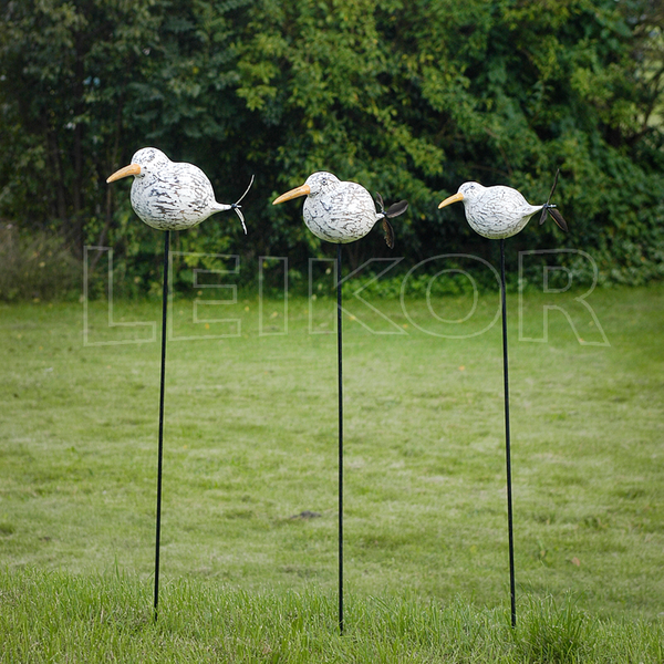 Möwe Erna 20 cm Gartenstecker