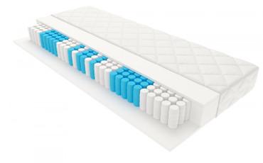 7 Zonen Taschenfederkernmatratze InterMED Pocket 90x200 cm H3 – Bild 1