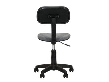 Drehstuhl Bürostuhl Kinderstuhl Webstoff Grau – Bild 3