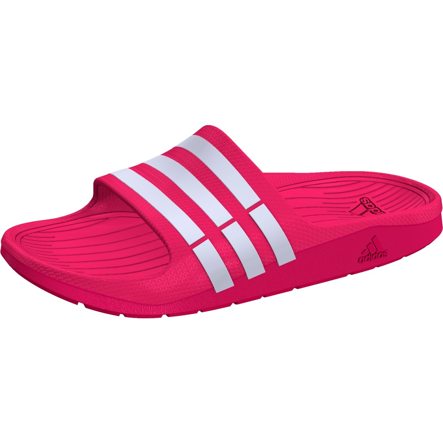 adidas adilette duramo slide k pink weiss g06797 schuhe. Black Bedroom Furniture Sets. Home Design Ideas