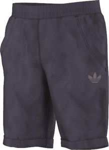 adidas Originals Kinder J TERRY SHORTS Hose AJ 0303 Blau Used Look