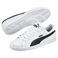 Puma Smash L Unisex-Erwachsenen Sneaker 356722 11 Weiß / Schwarz