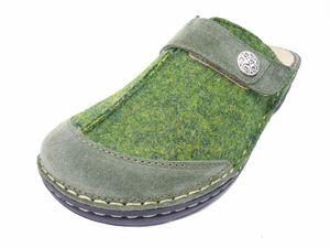 Rohde Cremona Damen Clogs Pantoffeln Pantolette 6173 Hunter Green