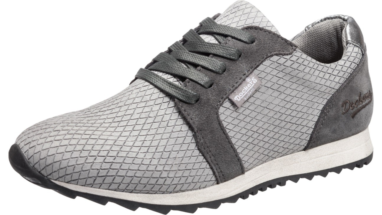 Dockers By Gerli 38ml206 602200 Damen Sneaker Schuhe Grau Sale Ebay