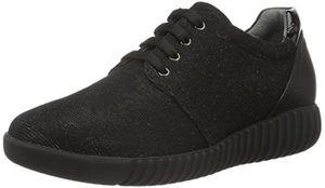 ROHDE Prato Damen Sneakers Schwarz 9250 Schnürschuhe