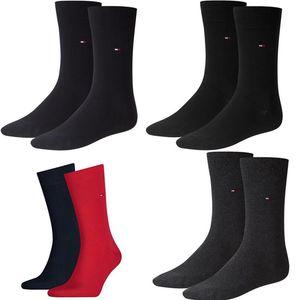 Tommy Hilfiger Herren Strümpfe Business Socken mehrere Farben 2 Paar 371111 Unifarben