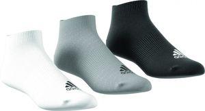 adidas Männer Ankle Rib T 3er Pack Sportsocken Sneakersocken 3 Farben AA2313