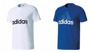 adidas Herren Essentials Linear Tee / T-Shirt S98730 S98734