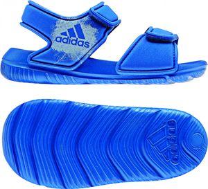 adidas Kinder Wassersandale AltaSwim g I Badesandale Wasserschuhe BA9281 Blau