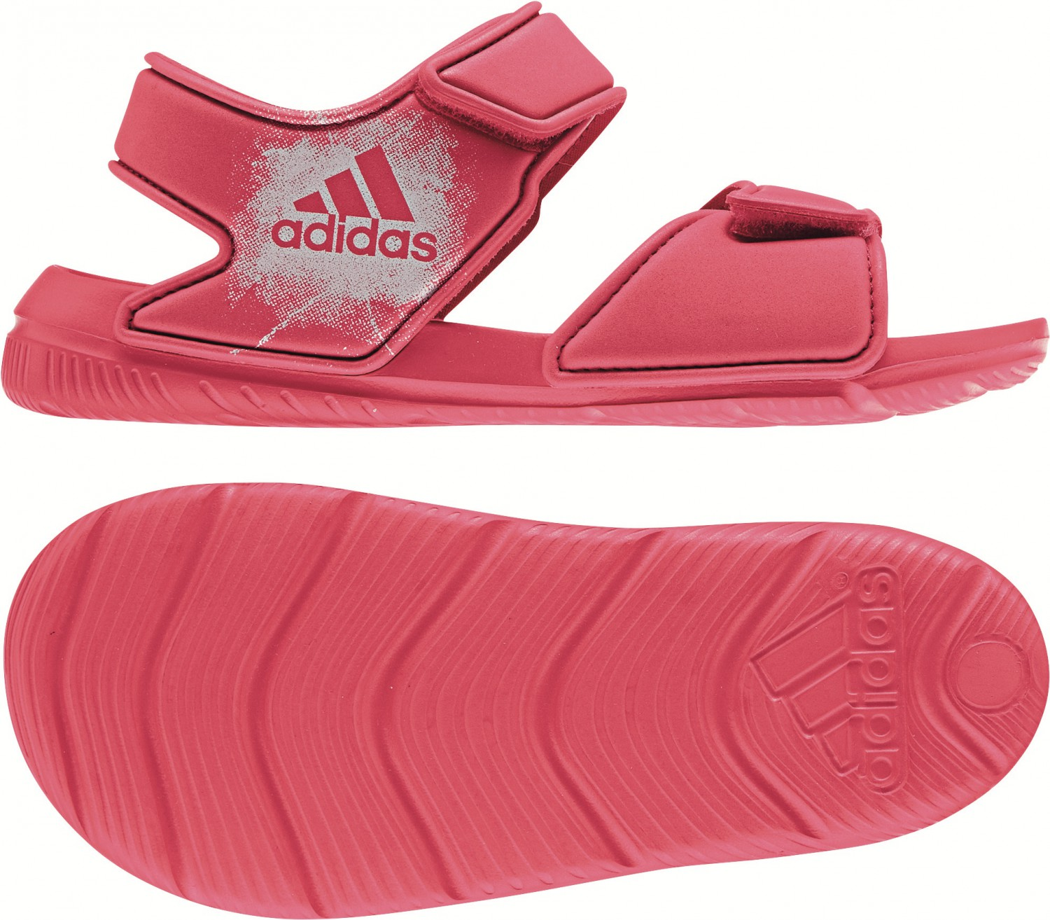 e9f1a2fc6c19 adidas kids water sandal AltaSwim C water shoes BA7849 bathing sandal pink