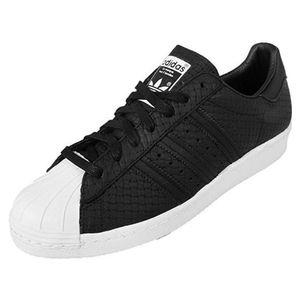 adidas Originals Superstar 80s Woven Sneaker Schwarz S75007