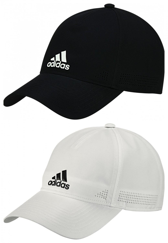 Details zu adidas CLASSIC CLIMALITE CAP / Baseball Cap Damen Kinder Herren Weiß Schwarz