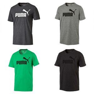 PUMA Herren ESS No.1 Heather Tee / T-Shirt 838243 Dry Cell
