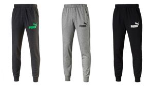 PUMA ESS Sweat Pants TR cl Trainigshose Jogginhose 838265 Schwarz Grau