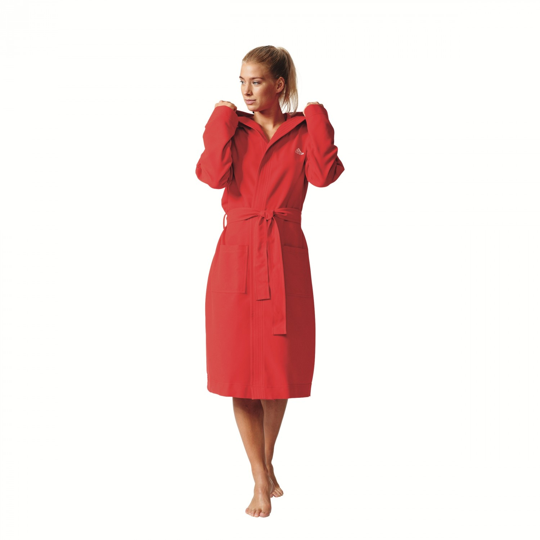 edler adidas bademantel microfibre bathrobe women damen ebay. Black Bedroom Furniture Sets. Home Design Ideas