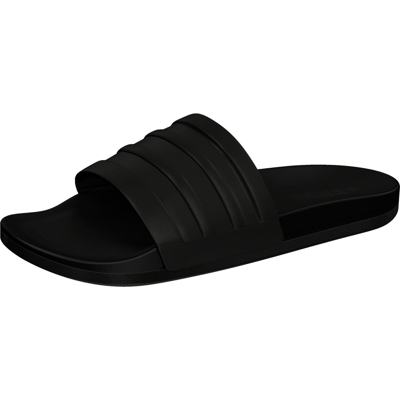 adidas Herren Adilette CF+ Mono Dusch-& Badeschuhe, Schwarz (Core Black/Core Black/Core Black Core Black/Core Black/Core Black), 38 EU