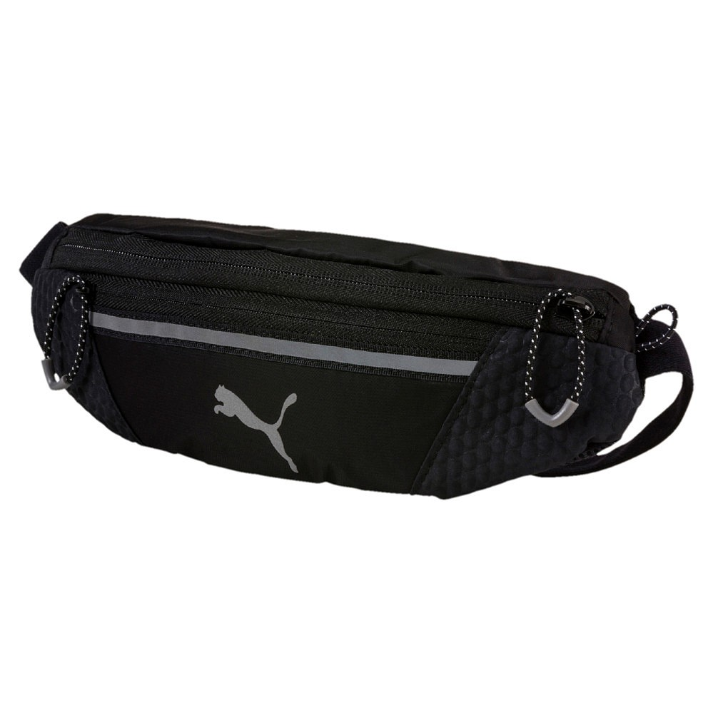 f6a43307e6 Details about Puma PR Classic Waist Bag   Belt Bag Black and Pink