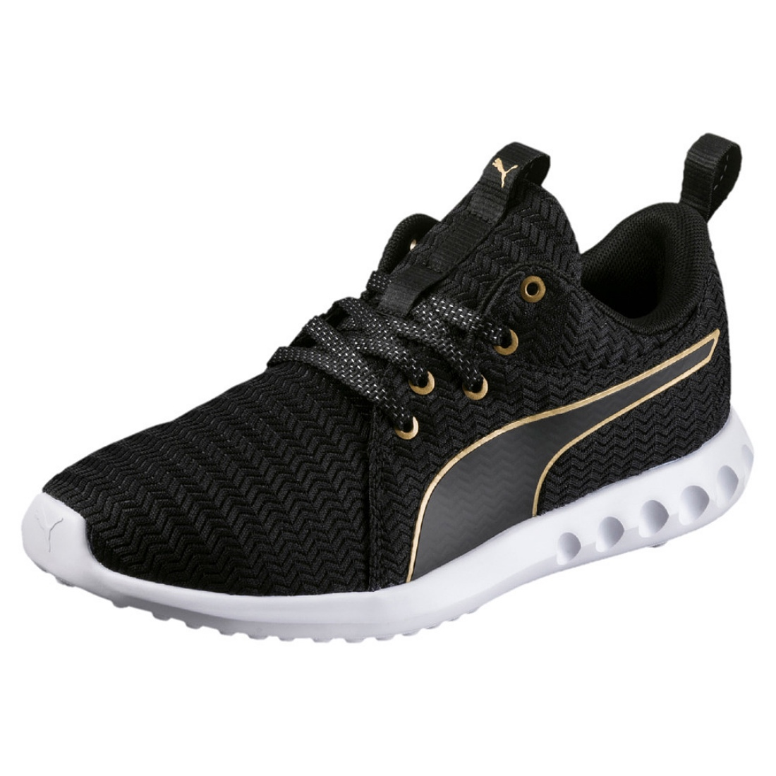 Details about Puma Carson 2 Metallic Wn's Ladies Running Shoes Trainers 190044 Black