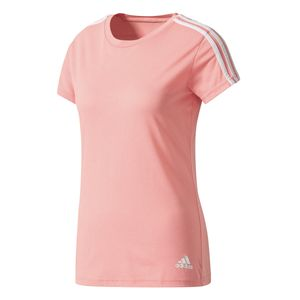 adidas Damen Essentials 3S Slim Tee / T-Shirt Rose BR2459