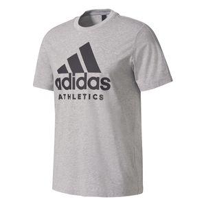 adidas Herren Sport SID Branded Tee / T-Shirt BK3711 Grey