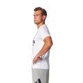 adidas Herren Sport SID Branded Tee / T-Shirt BK3715 White