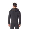 adidas Essentials Linear Full-Zip Hood Fleece Sweatshirt / Hoody Kapuzenshirt BR4058 Schwarz