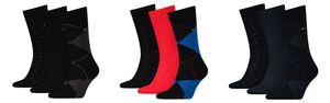 Tommy Hilfiger Herren Socken Men Business Mixed Box Giftbox Geschenkbox 3er Pack 472016001