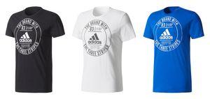 adidas Herren ESS Badge Regular Tee / T-Shirt