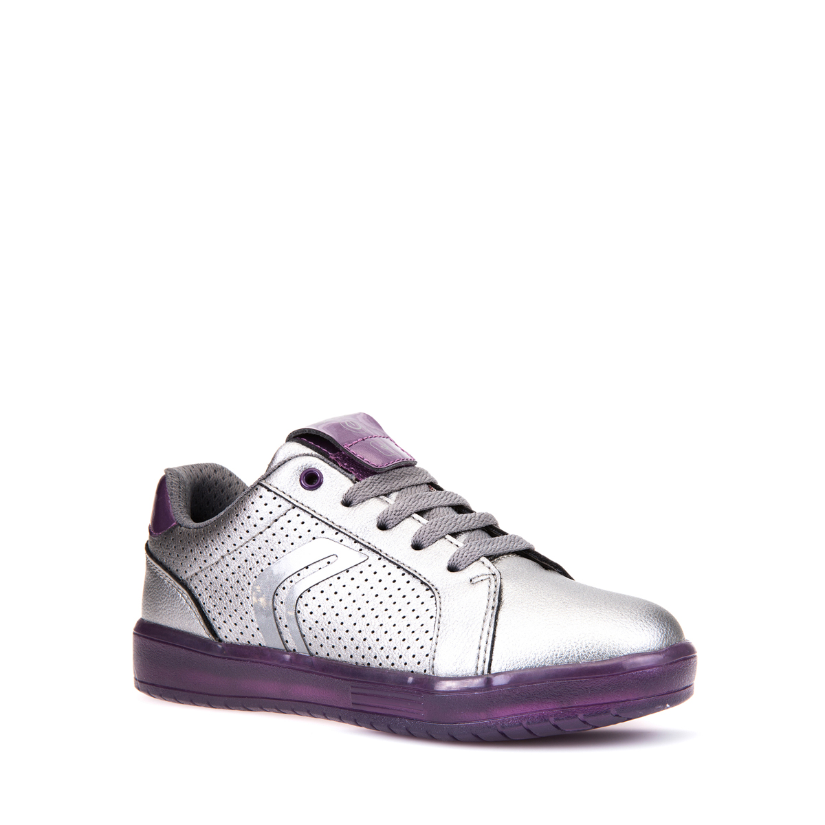 6cf40961537c4 Details about Geox Respira Jr kommodor Girl Sneakers Trainers Low Shoes LED  BLINKER j744h4