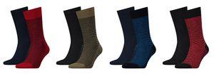 Levi´s 2-er-Pack Levis 168SF Regular Cut Stripe Socks Strümpfe Streifen