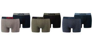 LEVI'S Herren Boxershorts 200SF Vintage Birdfeet Stripe 2er-PACK BOXERS