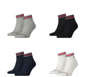 Tommy Hilfiger Herren Quarter Iconic Sport Socken Socks 2er Pack