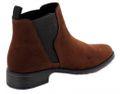 Marco Tozzi Damen Stiefeletten Chelsea Boots 25321 Cognac