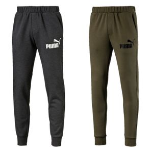 PUMA Herren Hose ESS No.1 Sweat Pants, FL cl Trainigshose Jogginhose Grau Olive