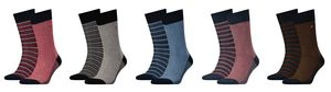 Tommy Hilfiger Herren TH Men Three Tone Sock Socken 2P 2er Pack