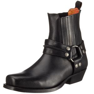Dockers by Gerli Biker Western Boots Stiefelette Stiefel 170102 Schwarz