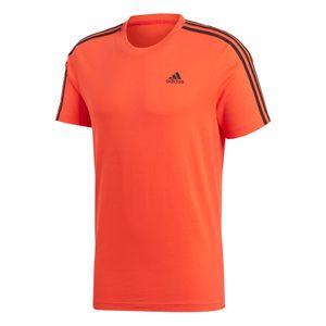 adidas Herren Essentials 3S Tee / T-Shirt CW3806 Hi-Res Red