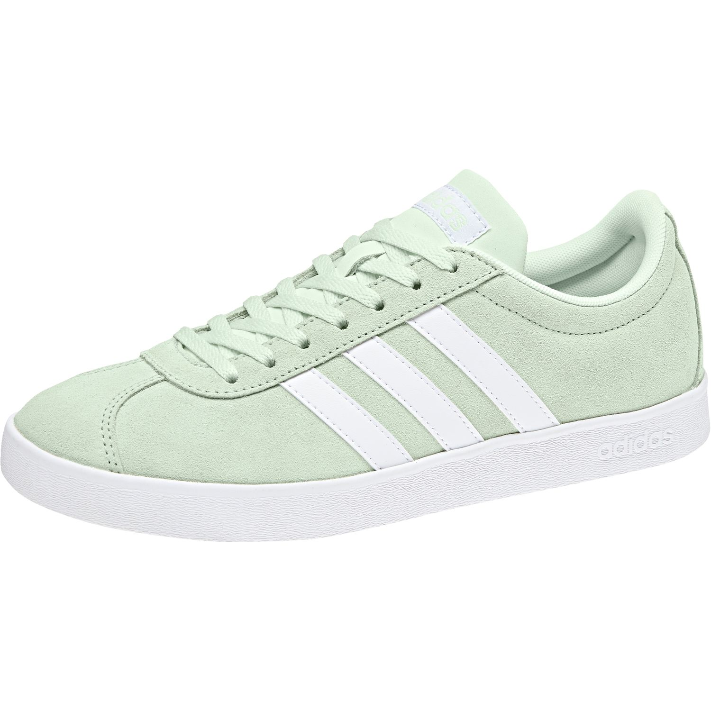 7f692edd4d2209 adidas Damen VL COURT 2.0 W Sneaker Schuhe DB1218 Aero Green