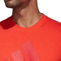 adidas Herren Sport SID Branded Tee / T-Shirt CF9557 HI-Res Red