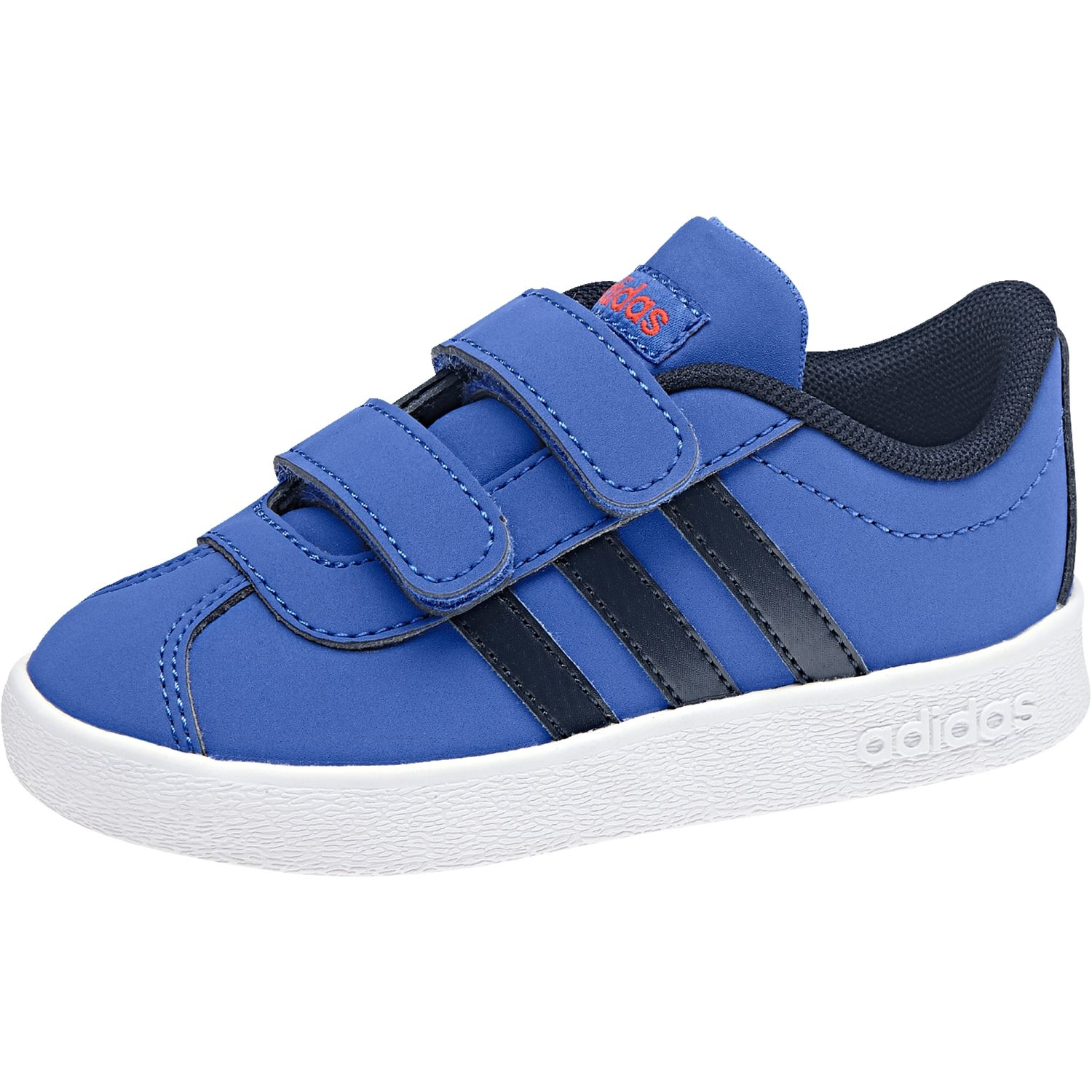 watch 62aa3 2ec10 adidas performance VL COURT 2.0 CMF I unisex kids shoes DB1531 HI-RES blue