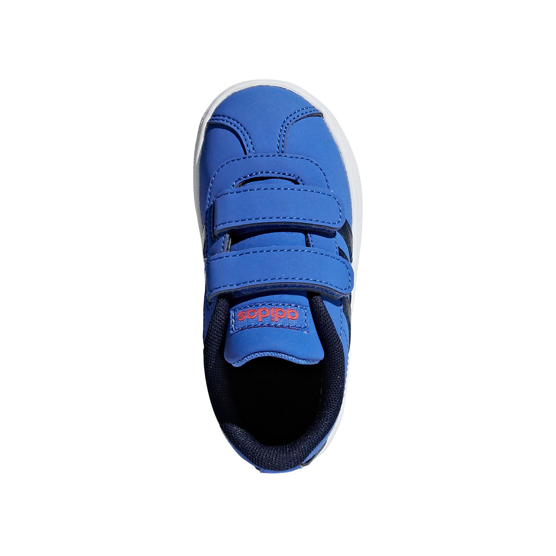 official photos a7b34 be4db ... adidas Performance VL COURT 2.0 CMF I Unisex-Kinder Schuhe DB1531  HI-Res Blue ...