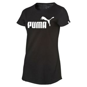 PUMA Damen ESS No.1 Tee / T-Shirt 838367 DryCell Schwarz