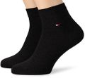Tommy Hilfiger Herren Sneakersocken TH MEN QUARTER 2 Paar