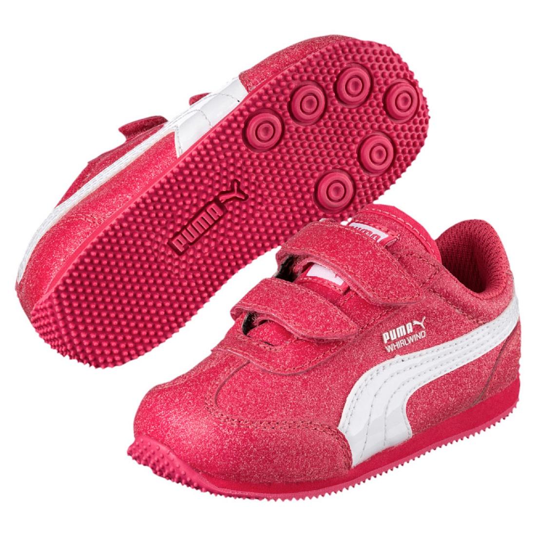 Whirlwind Schuhe Mädchen Puma V Sneaker Glitz Paradies Kinder Inf A4LjR5
