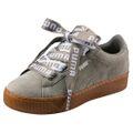 Puma Vikky Platform Ribbon Bold Damen Sneaker Schuhe 365314 Rock Ridge