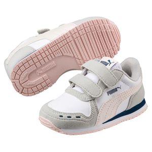 Puma Cabana Racer SL V Inf Kinder Schuhe Sneaker 351980 Puma White Pearl