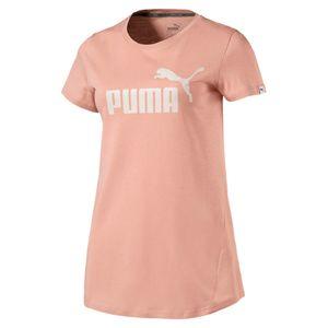 PUMA Damen ESS No.1 Tee / T-Shirt 838367 DryCell Peach