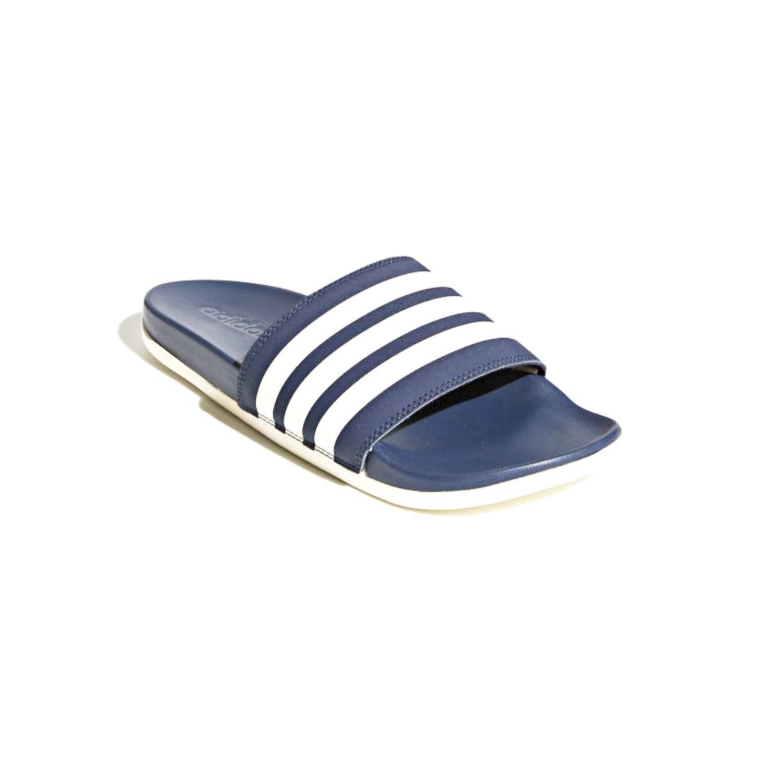 reputable site b2a02 5d901 adidas Adilette Comfort Pantolette CF Hausschuhe AP9970 Navy. undefined